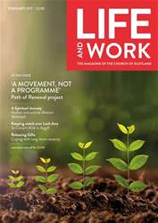 Life and Work Magazine Cover