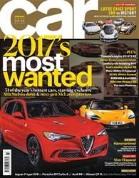 Car Magazine Cover