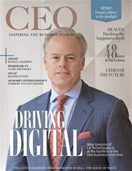 The CEO Magazine EMEA Magazine Cover