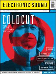 Electronic Sound Magazine Cover
