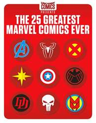 The 25 Greatest Marvel Comics Ever issue The 25 Greatest Marvel Comics Ever