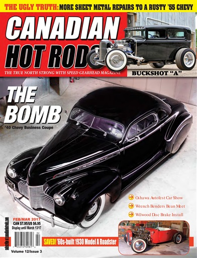 canadian hot rods magazine feb march 2017 subscriptions pocketmags. Black Bedroom Furniture Sets. Home Design Ideas