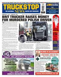 No. 386 Brit Trucker Raises Money For Murdered Polish Driver  issue No. 386 Brit Trucker Raises Money For Murdered Polish Driver