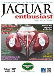 Vol. 33 No. 2 Building Your Own XKR Dream issue Vol. 33 No. 2 Building Your Own XKR Dream