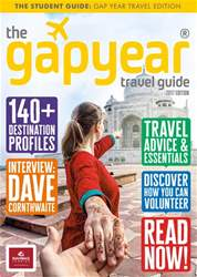 The Gap Year Travel Guide 2017 issue The Gap Year Travel Guide 2017