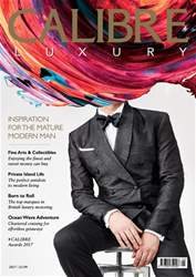 CALIBRE Luxury #1 issue CALIBRE Luxury #1