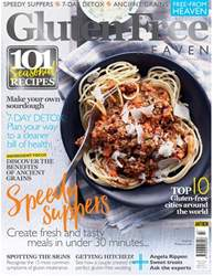 Gluten-Free Heaven Magazine Cover