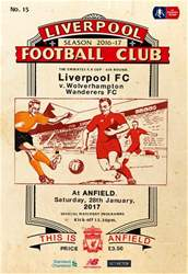 Liverpool v Wolverhampton Wanderers FA CUP 201617 issue Liverpool v Wolverhampton Wanderers FA CUP 201617