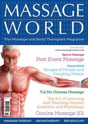 Massage World Issue 95 issue Massage World Issue 95
