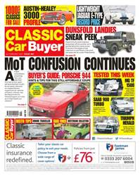 No. 367 MoT Confusion Continues issue No. 367 MoT Confusion Continues