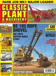 Vol. 14 No. 16 Be 195 Rope Shovel  issue Vol. 14 No. 16 Be 195 Rope Shovel