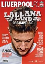 Liverpool FC Magazine Magazine Cover