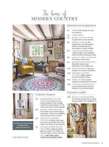 Country Homes Interiors Magazine March 2017