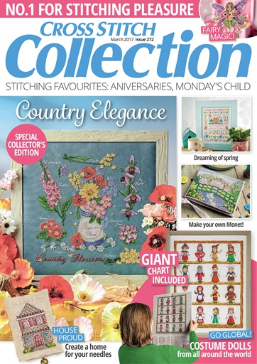 Cross Stitch Collection Magazine - March 2017 Subscriptions Pocketmags