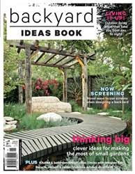 Backyard Ideas Book #1 issue Backyard Ideas Book #1