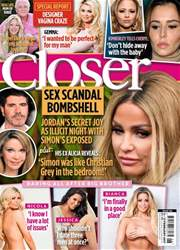 Closer Magazine Cover