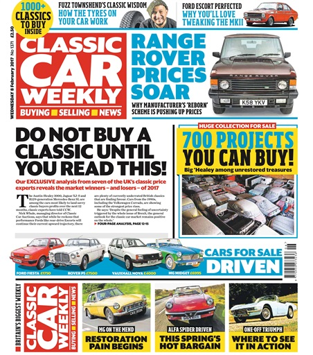 Classic Car Weekly Digital Issue