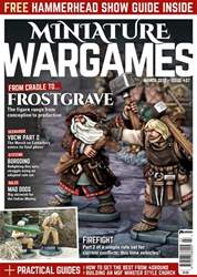 Miniature Wargames Magazine Cover