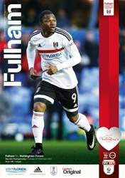 Fulham  v Nottingham Forest 2016-17 issue Fulham  v Nottingham Forest 2016-17