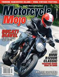 Motorcycle Mojo Magazine Cover