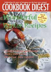 Cookbook Digest Magazine Cover