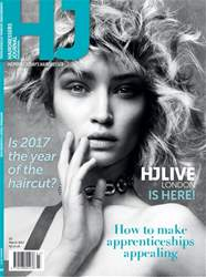 Hairdressers Journal Magazine Cover