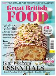 Great British Food Magazine Cover
