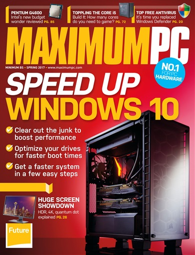 Maximum PC Magazine - Spring 2017 Subscriptions | Pocketmags