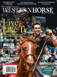 Western Horse Review, March/April Edition issue Western Horse Review, March/April Edition
