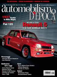 Automobilismo d'Epoca 3 2017 issue Automobilismo d'Epoca 3 2017