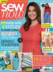 Sew Now Magazine Cover