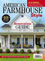 American Farmhouse Style Spring  2017 issue American Farmhouse Style Spring  2017