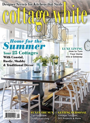 Cottages and bungalows magazine cottage white summer Spring cottage magazine