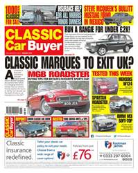 No. 373 Classic Marques To Exit UK? issue No. 373 Classic Marques To Exit UK?