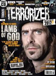 Terrorizer 218 January 2012 issue Terrorizer 218 January 2012