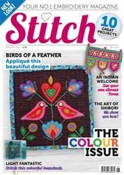 Stitch magazine Magazine Cover