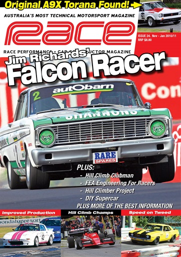 Race Magazine Preview