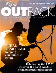 OUTBACK 112 issue OUTBACK 112