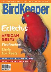 BirdKeeper Vol 30 Issue 8 issue BirdKeeper Vol 30 Issue 8