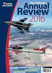 RAF Annual Review 2016 issue RAF Annual Review 2016