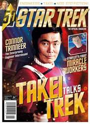Star Trek Magazine Magazine Cover