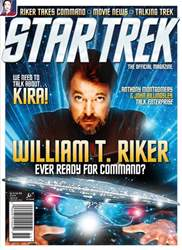 Star Trek Magazine Magazine Cover