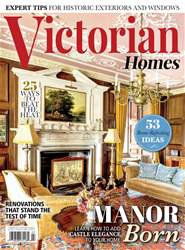 Victorian Homes Magazine Cover
