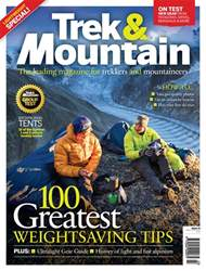 Trek & Mountain Magazine Magazine Cover
