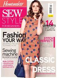 Sew Style Beginners issue Sew Style Beginners