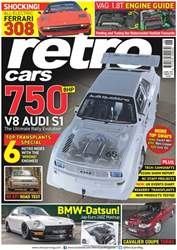 No. 109 750 BHP V8 Audi S1  issue No. 109 750 BHP V8 Audi S1