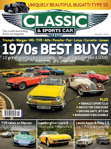Classic Sports Car Magazine May 2017 Subscriptions Pocketmags