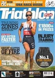 Triathlon Plus Magazine Cover