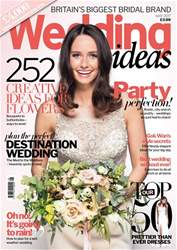 Wedding Ideas magazine Magazine Cover