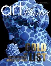 GOLD LIST - Top Contemporary Artists of Today issue GOLD LIST - Top Contemporary Artists of Today